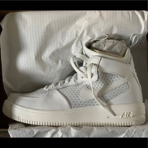 AIR FORCE 1 ULTRAFORCE MID SUMMIT WHITE - W 8.5 US